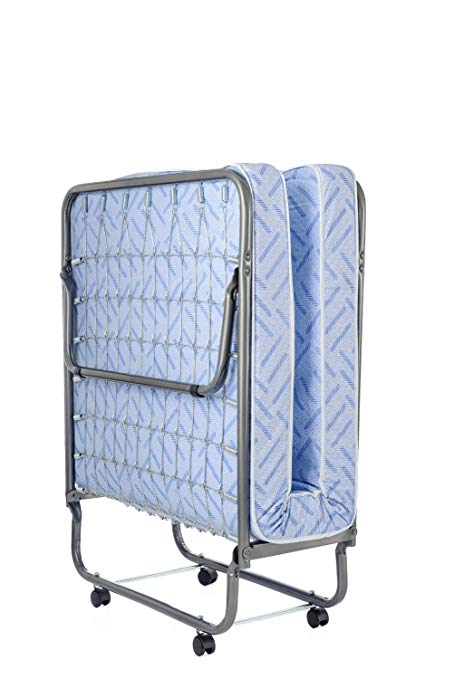 Children's Bed Billiard Lightweight Folding Bed With Mattress - Crib Size -74