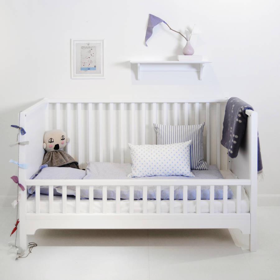 Children's bed Scandinavian white wooden bed GBDYAVK