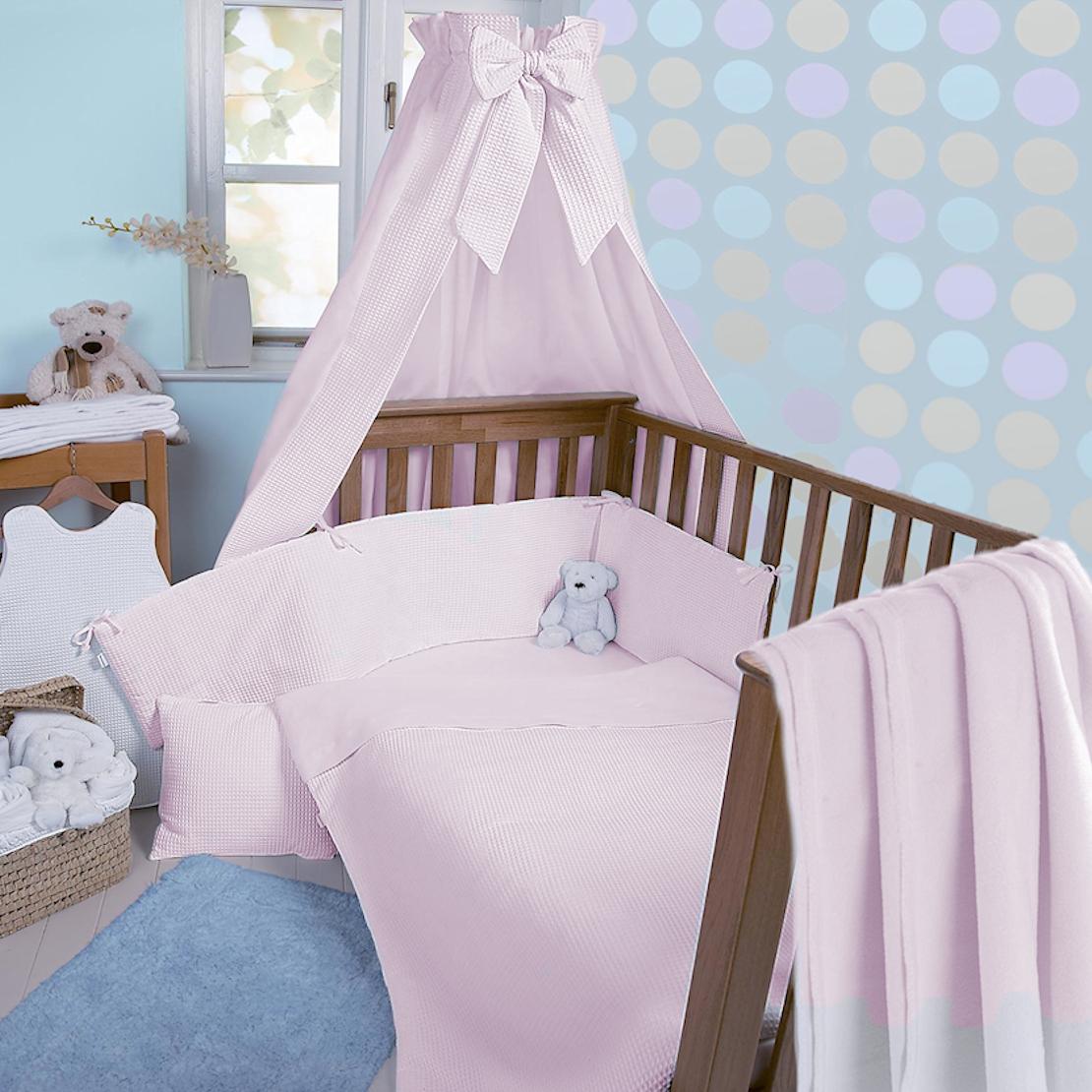 Children's bed linen Clair de Lune Soft waffle 3 pieces Children's bed / children's bed linen HSHHBTU