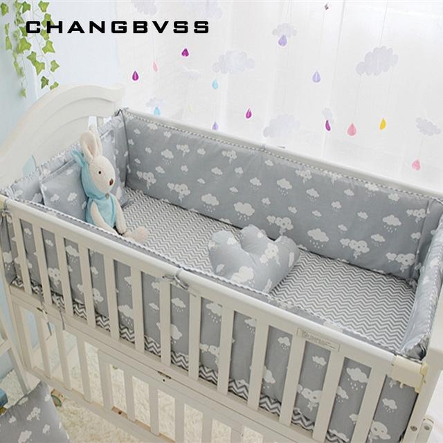 Cot bedding Newborn cot bedding set 5 pieces bed linen 100% cotton 5 pieces baby bed PFYXDUX