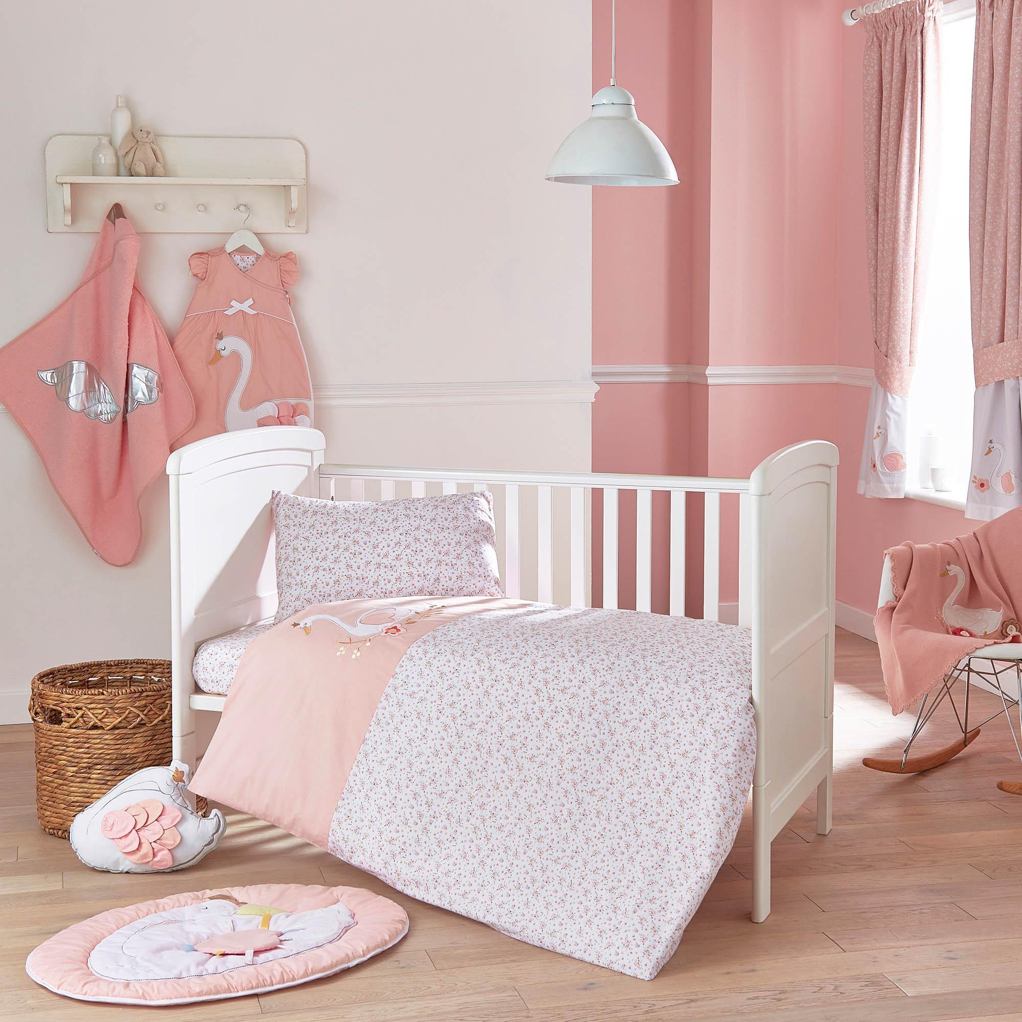 Children's bed linen swan princess bed linen collection GCTJBCH