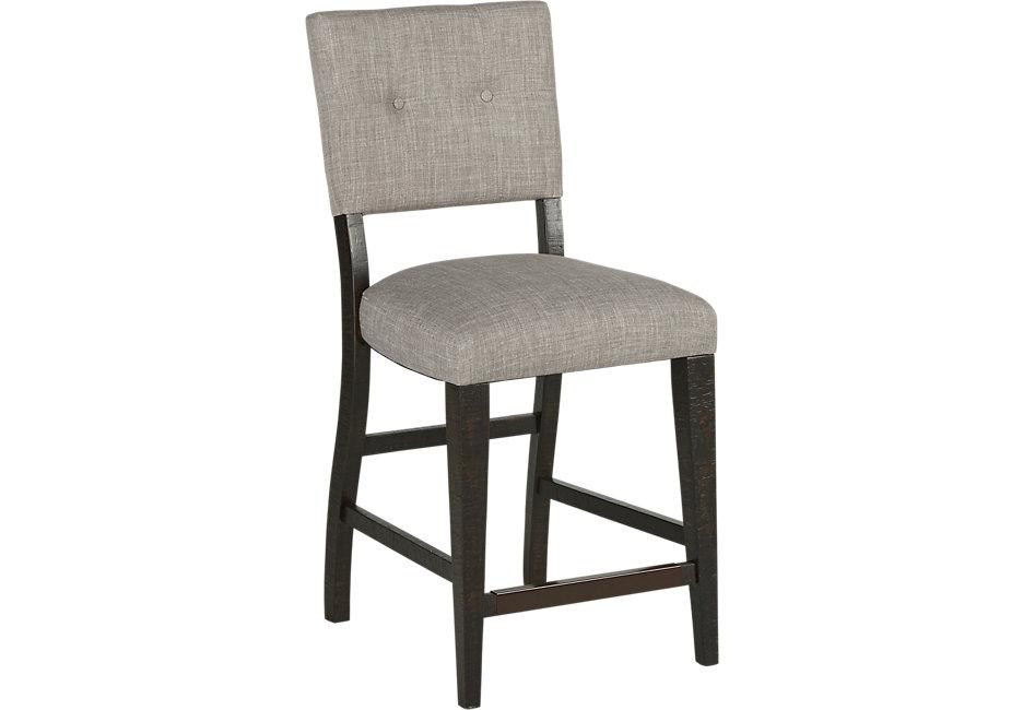Bar stool Hill Creek black bar stool bar stool - bar stool black NOPZHIR
