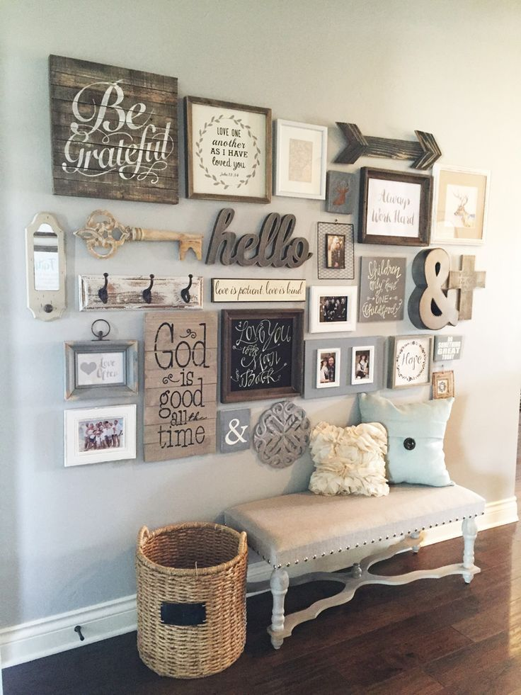 Country house decor If so, these 23 rustic farmhouse decor ideas will sweeten your day!  NJZKGCM