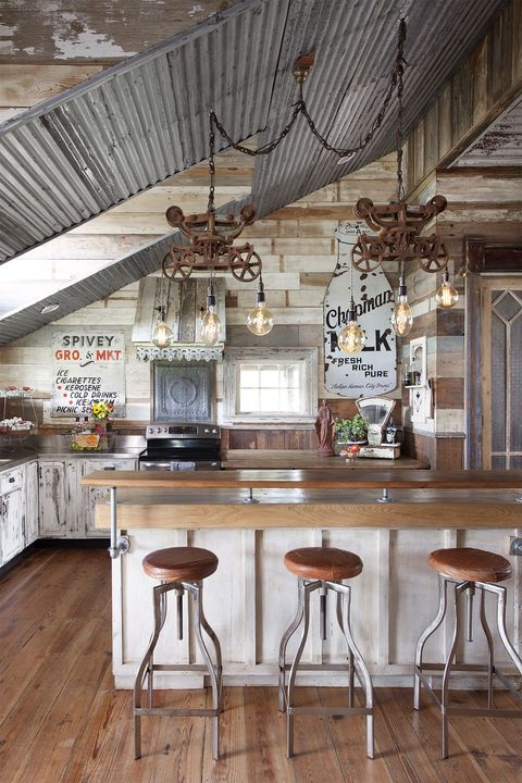 100 best kitchen design ideas - pictures of country kitchens