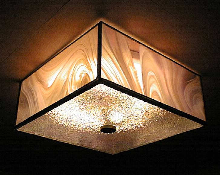 creative attractive light shades, in making these lamps with glass shades, UZHBXRW