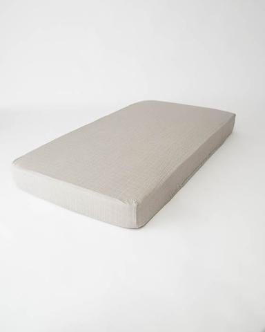 Bedsheet Cotton Muslin Bedsheet - Warm Gray MSJWINV