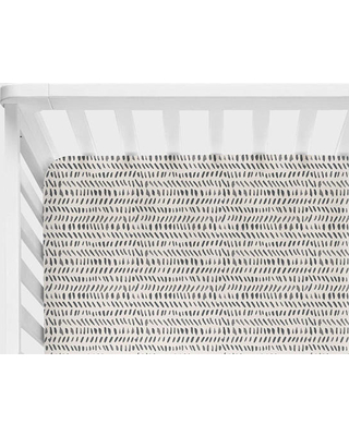 Crib bedding monochrome baby bedding, neutral crib bedding, black watercolor fitted sheet, mini CBXFKWZ