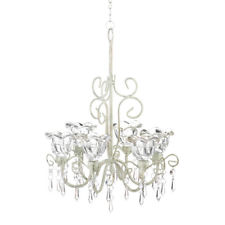 Chandelier with crystal flowers QRVGILZ