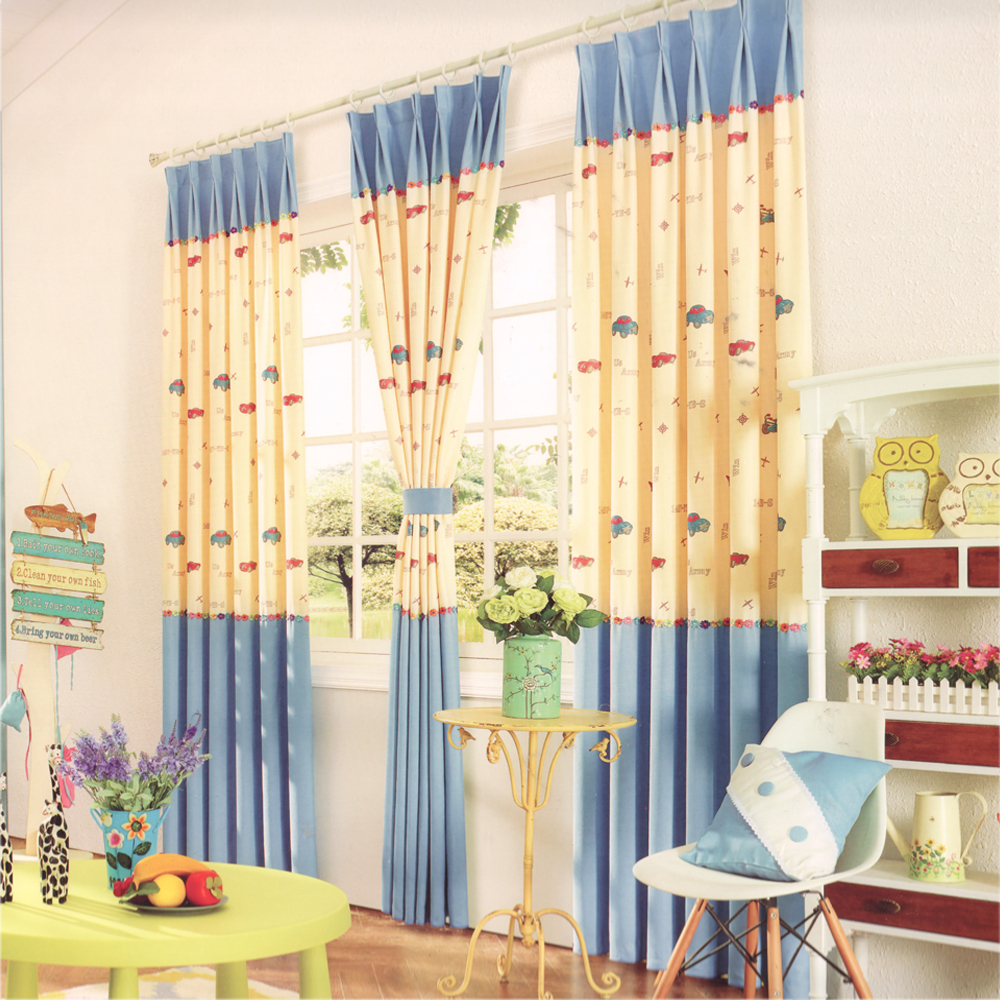 curtains for children's playroom