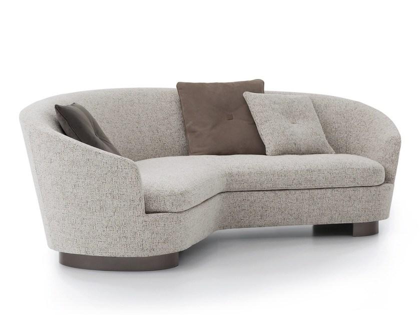 curved sofa curved fabric sofa aries by giovannetti design pietro cavallo DBLJAGA