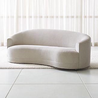 curved sofa curved sofas EFFERVH
