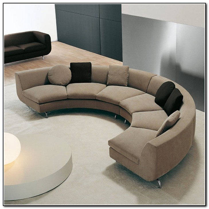 curved sofa modern curved sectional sofa TRGUVVI