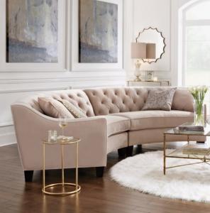 curved sofa WFOCRRI