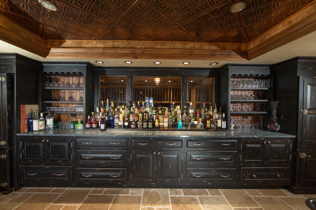 Custom-made house cellar bar Traditional Home Bar HZYWCYU