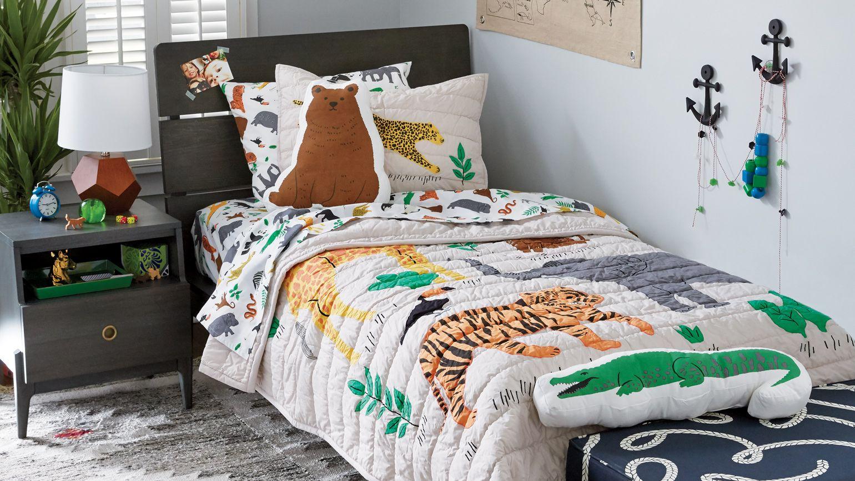 cute modern children's bed linen ERUOGAC
