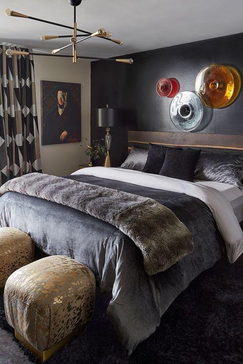 22 beautiful dark bedrooms - bedrooms with a dark color palette