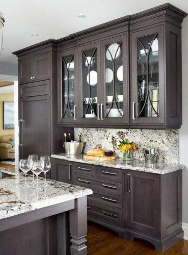 30 trendy ideas for dark kitchen cabinets |  Forever Builders San Die