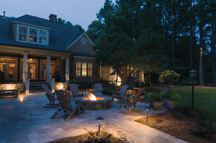 Patio and patio lighting - patio fireplace ITNFFFY
