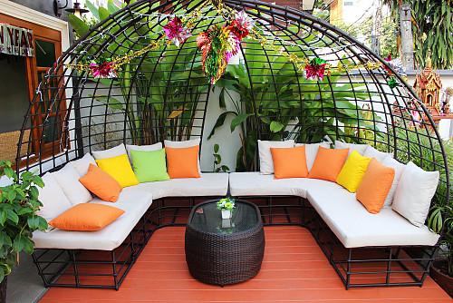 Terrace furniture via pixabay cco creative commons YBJWNET