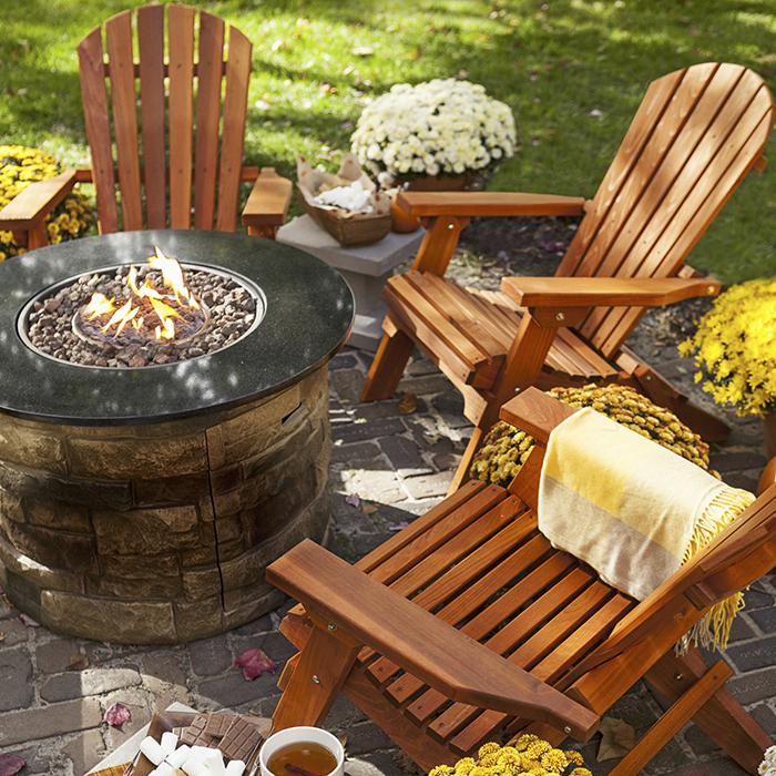 Terrace furniture Wooden garden furniture BRIFKPV