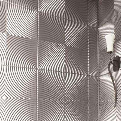decorative wall panels decorative wall panel made of brushed aluminum UQJJKFD