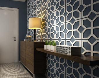 decorative wall panels flowers - 3d wall panels - panels 3d - wall panel - XJBXCGI