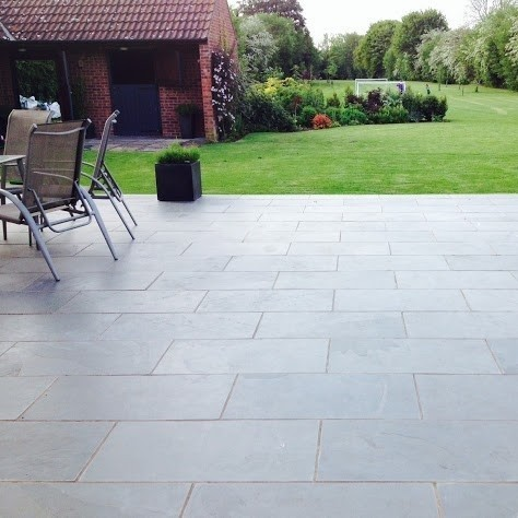 wonderful terrace slabs in other 18 90m cloud gray slate paving 600x600x20mm NARTZYS