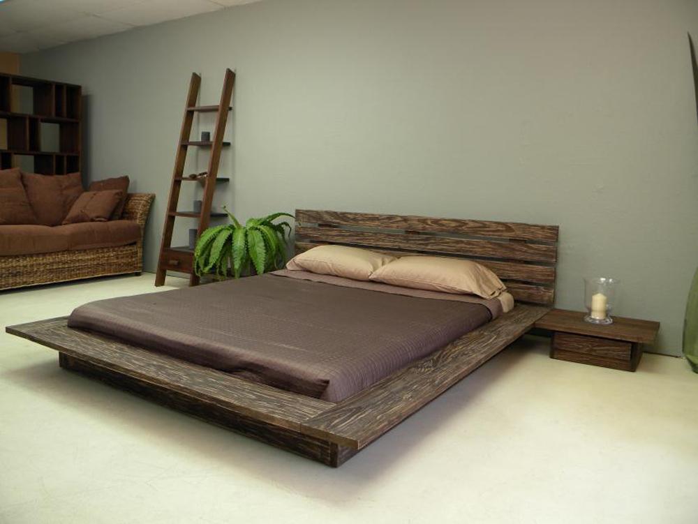 Low profile delta platform bed WWZQBON