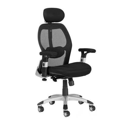 Ergonomic office chair Deluxe Mesh with headrest KAGBJKL