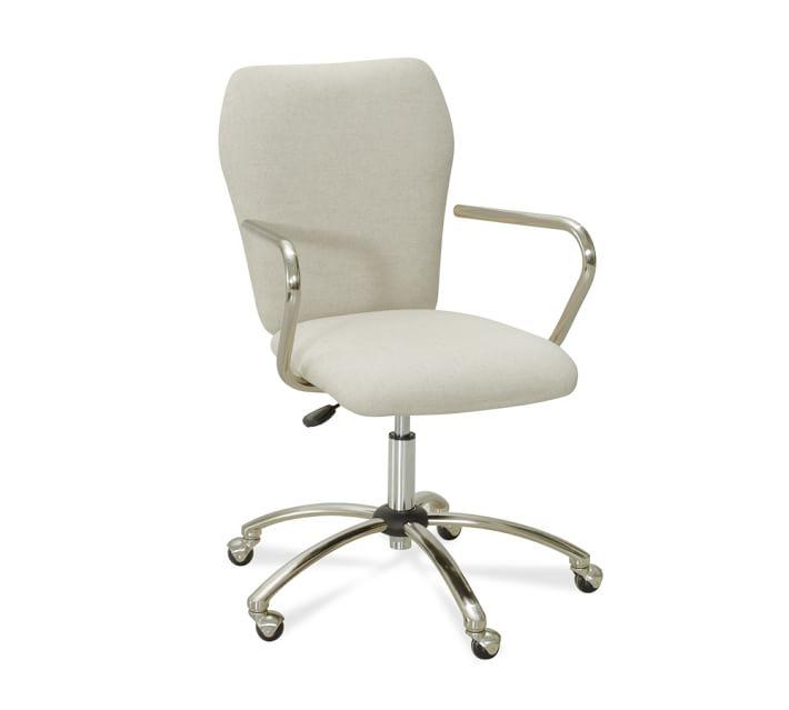 Desk chairs airgo desk swivel chair |  Pottery barn JQTMCCG