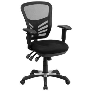 Desk chairs ayers mesh desk chair with medium backrest QRITAIL