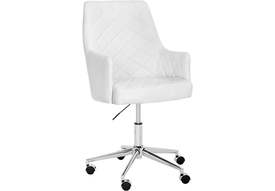 Desk chairs Chase Place white Desk chair - Office chairs (white) KNLTWMN