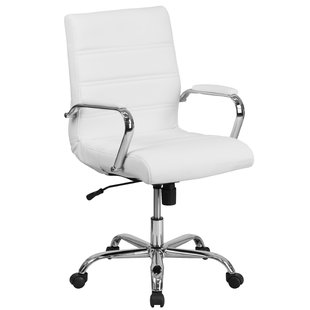 Desk chairs petrillo desk chair with medium backrest YBZFRWO