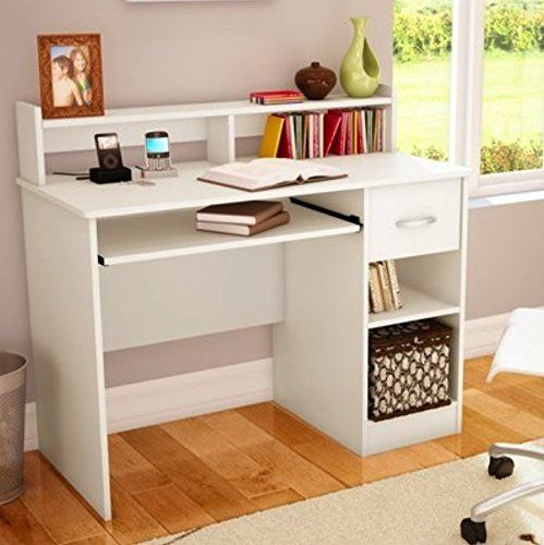Desk for your child South Shore small desk in a great white finish - great desk AGPTEZC