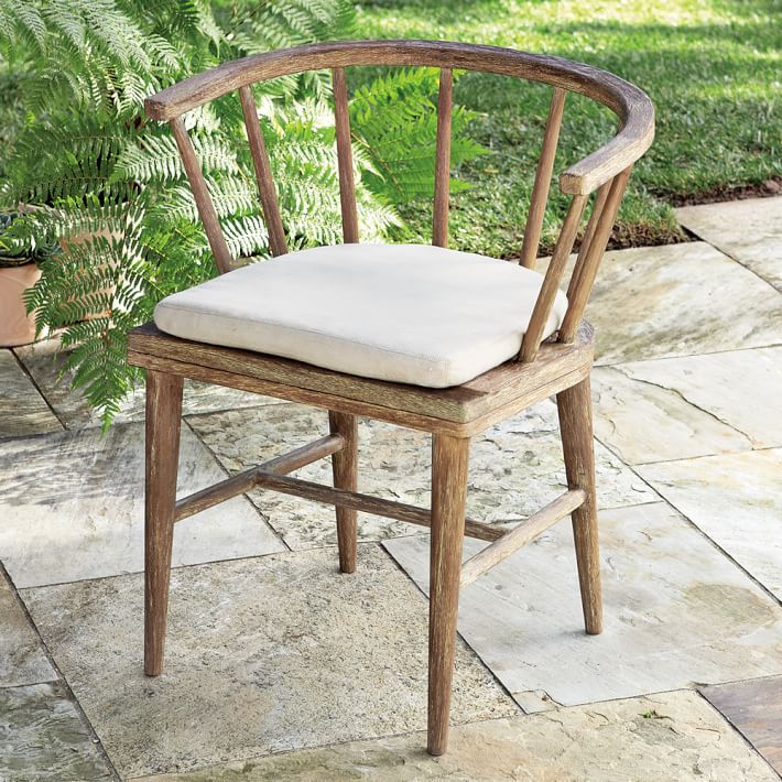 Dining room chair cushion Dexter Outdoor dining room chair cushion |  West elm HXNCAOJ