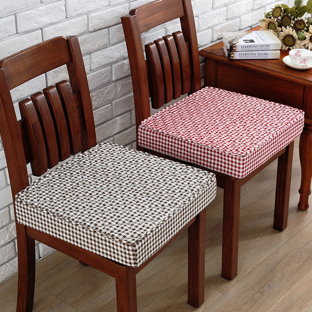 Dining Room Chair Cushions Liquid Sponge Thickening Cushions Chair Pad Four Seasons Matte Dining Chair DMMBSVE
