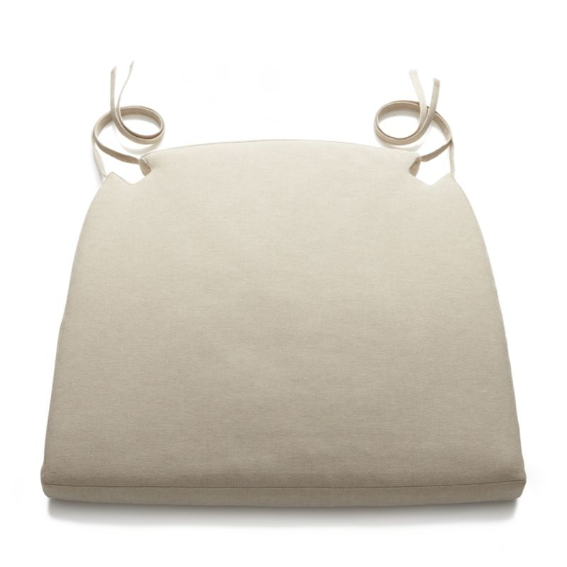 Dining room chair cushion Harper Sand chair cushion + reviews |  Crate and barrel IJDCQCK