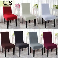 Dining room chair covers spandex stretch wedding banquet chair cover party decor dining room seat OGPGLGM