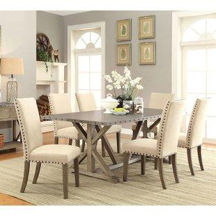 Dining room furniture sets Athens 7-piece dining room set NFIIPJU