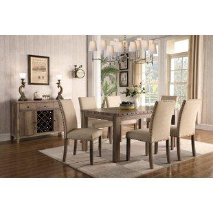 Dining room furniture sets make 7-piece dining room set EAKBTDL