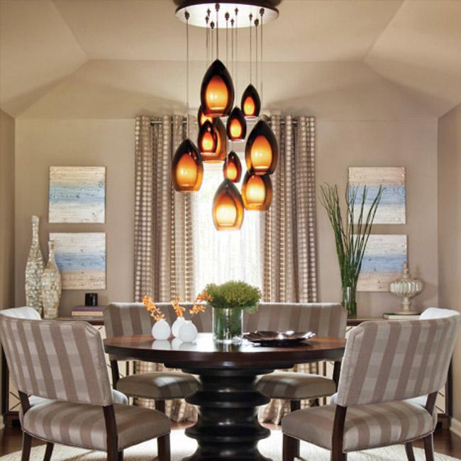 Dining room lighting ... https://www.lumens.com/fire-multi-light- ... QHQRXCO
