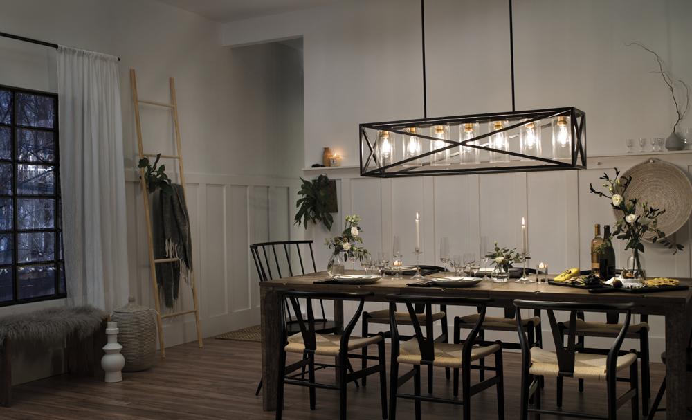 Dining room lighting Moorgate DRWROAO