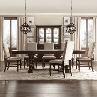 Dining room table sets Flatiron Baluster extendable dining room set by inspire q classic ISLLIPK