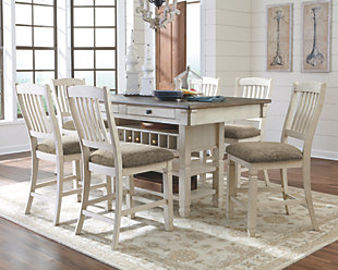 Dining room table sets ... large Bolanburg 5-piece counter dining room,, Rollover LXRZUUT