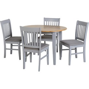 Dining tables and chairs Bouvet extendable dining set with 4 chairs PYUUITD