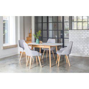 Dining tables and chairs faldo extendable dining table set with 4 chairs CYGWLOX