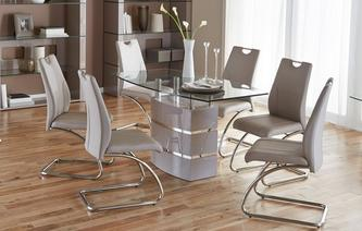 Dining tables and chairs piatto fixed dining table and 4 chairs piatto icona LNZSNCA