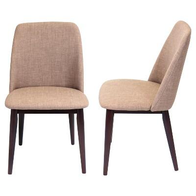 Dining Chairs Tintori Mid Century Modern Dining Chairs Wood / Espresso (Set of 2) - RMPFZJV