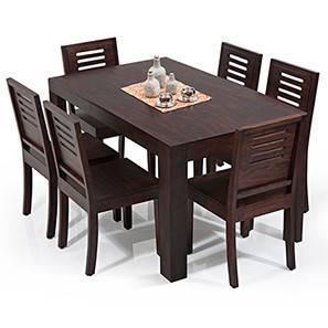 dining table arabia - capra 6-piece dining table set - urban ladder EWYOWQN