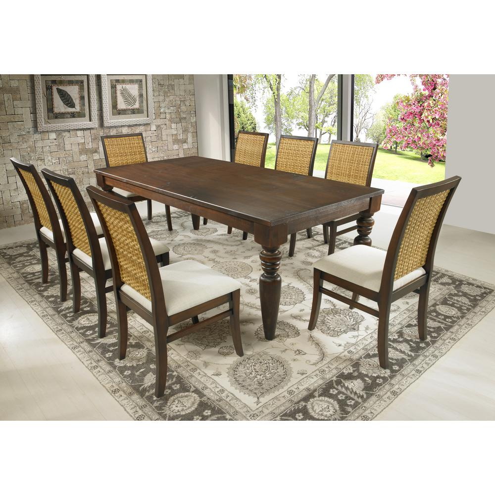 Dining table cinnamon swivel legs Dining table WZDJAPA